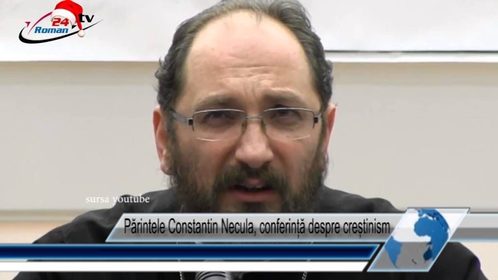 Părintele Constantin Necula, conferință despre creștinism