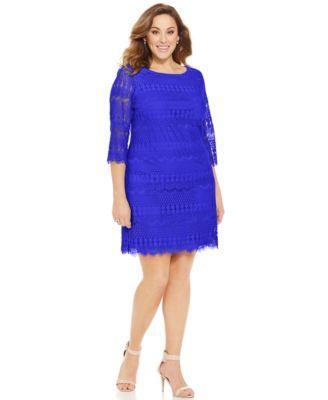 Jessica Howard Plus Size Dress