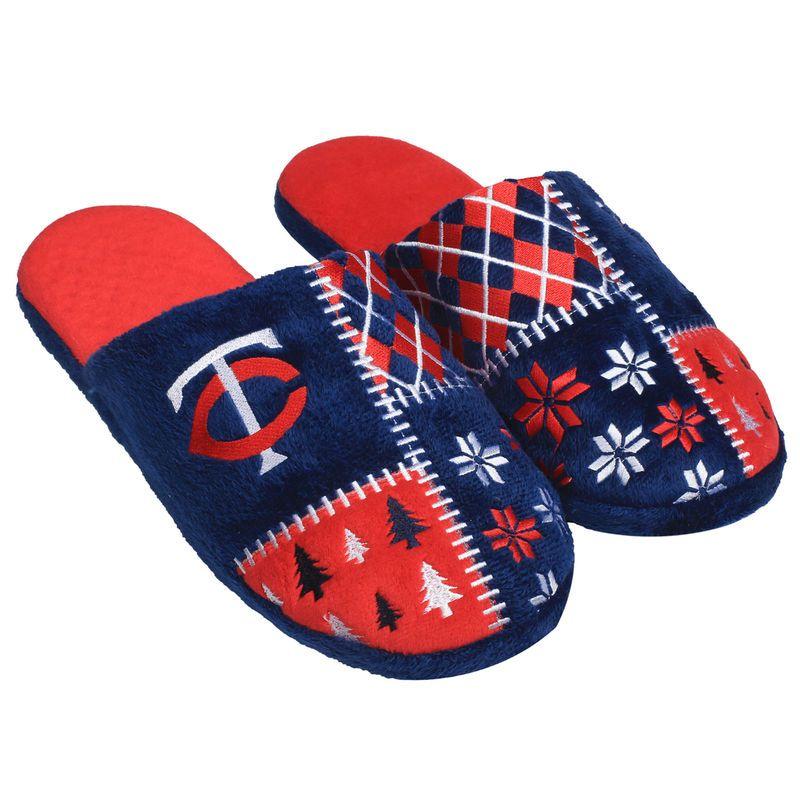 Minnesota Twins Ugly Sweater Slippers