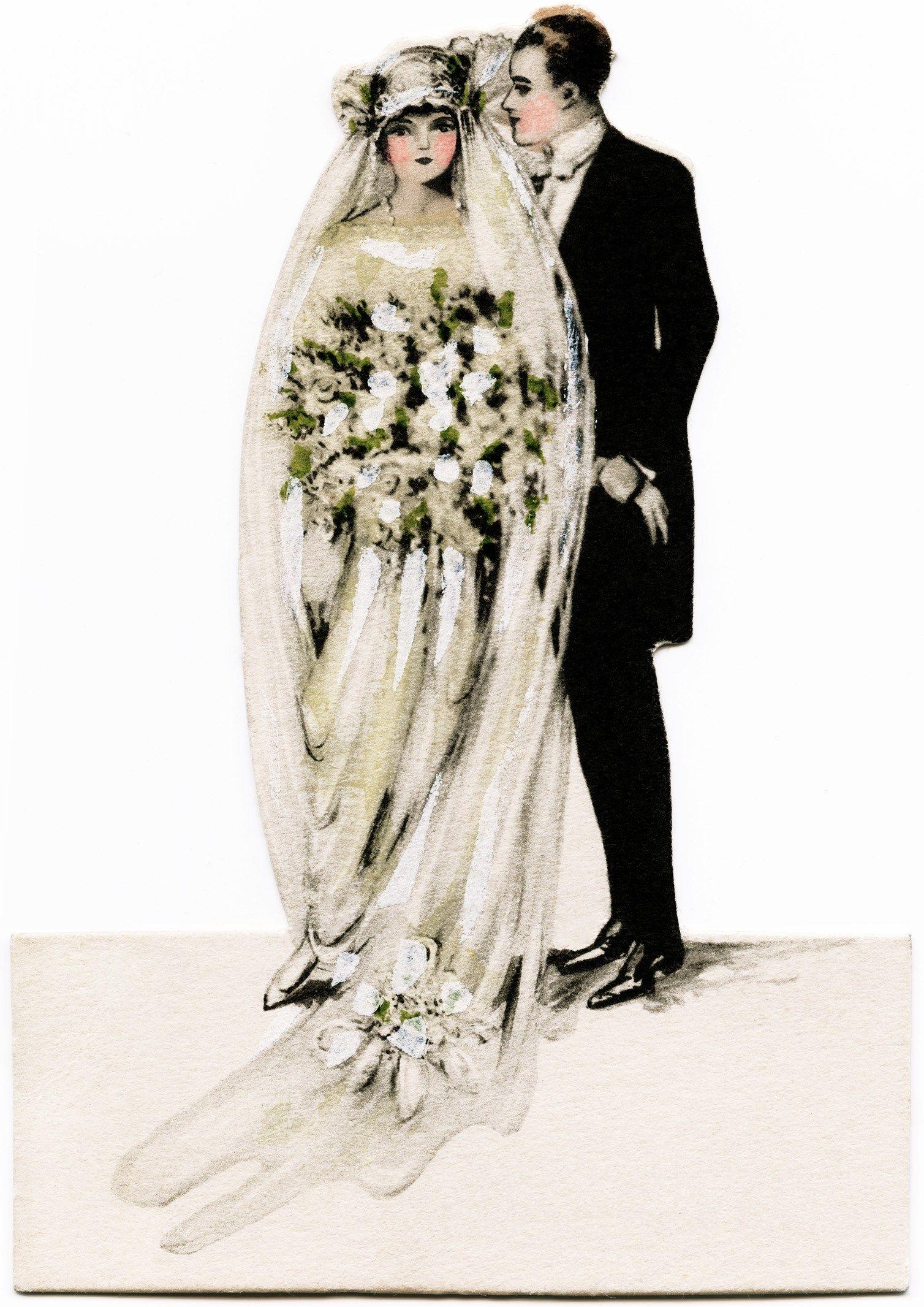 Victorian Bride And Groom Vintage Wedding Clipart Antique Wedding Graphics Printable Bride Groom Old Wedding Graphics Victorian Bride Vintage Wedding Cards