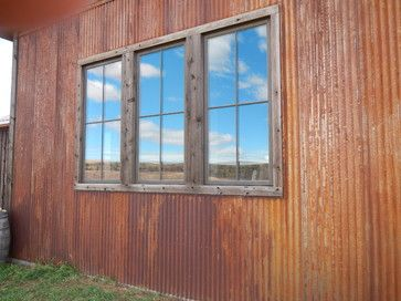 Montana Old West Residence Steel Siding Corrugated Metal Siding Corrugated Metal Wall