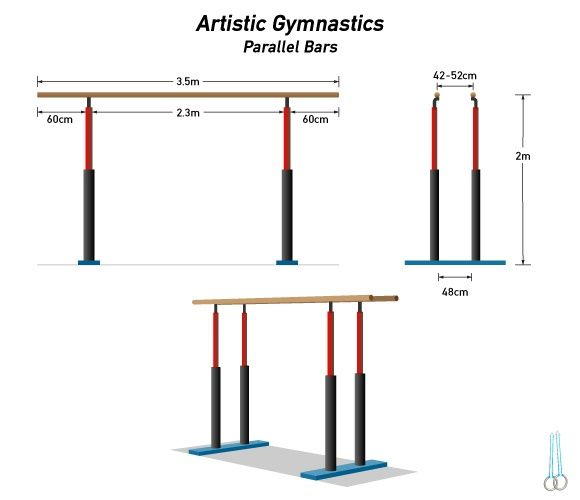 Gymnastics Equipment Dimensions Isport Com Gymnastics