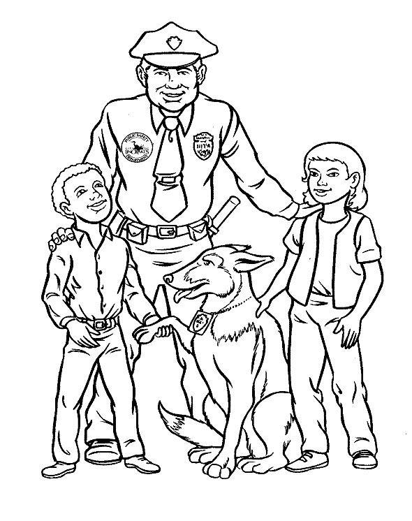 Dibujos para Colorear Trabajos 35 | Dibujos para colorear para niños ...