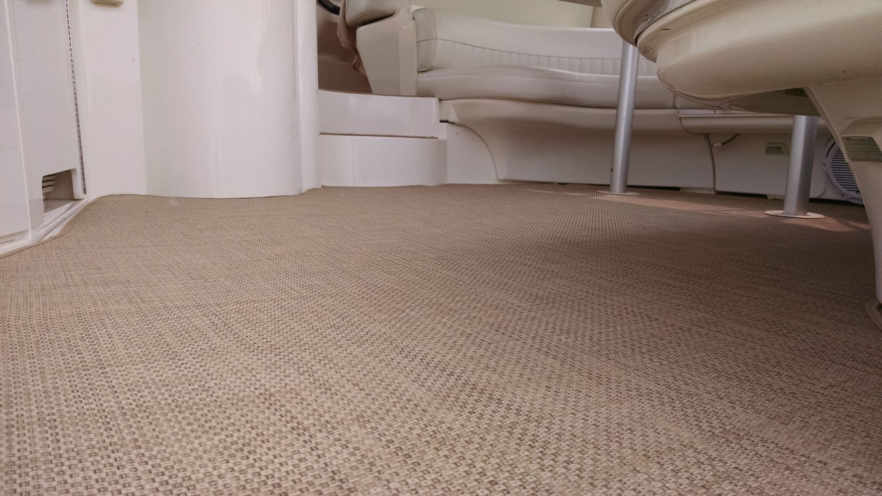 Beautiful Infinity Fabrics Marine Carpeting Recently Installed On A Carver Yacht In Chicago Http Www Chicagomarinec Boat Carpet Marine Carpet Carver Yachts