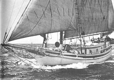 Joshua Slocum, The Yacht Spray, Sailing photos | Sailing, Best yachts, Sailing art