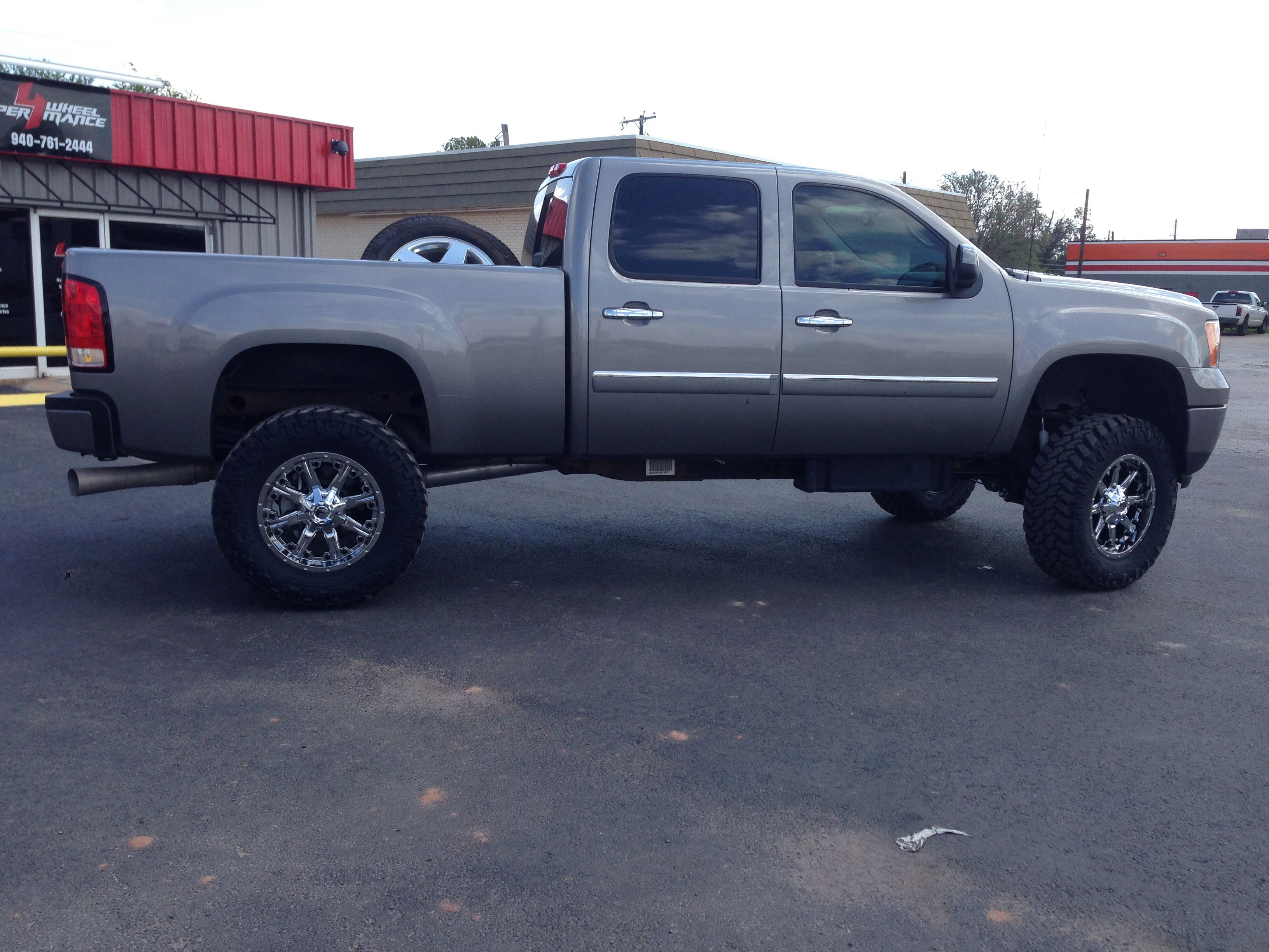 2013 Gmc Sierra 2500 Hd 6 5 Bds Lift 20 Fuel Wheels 37x12 50r20