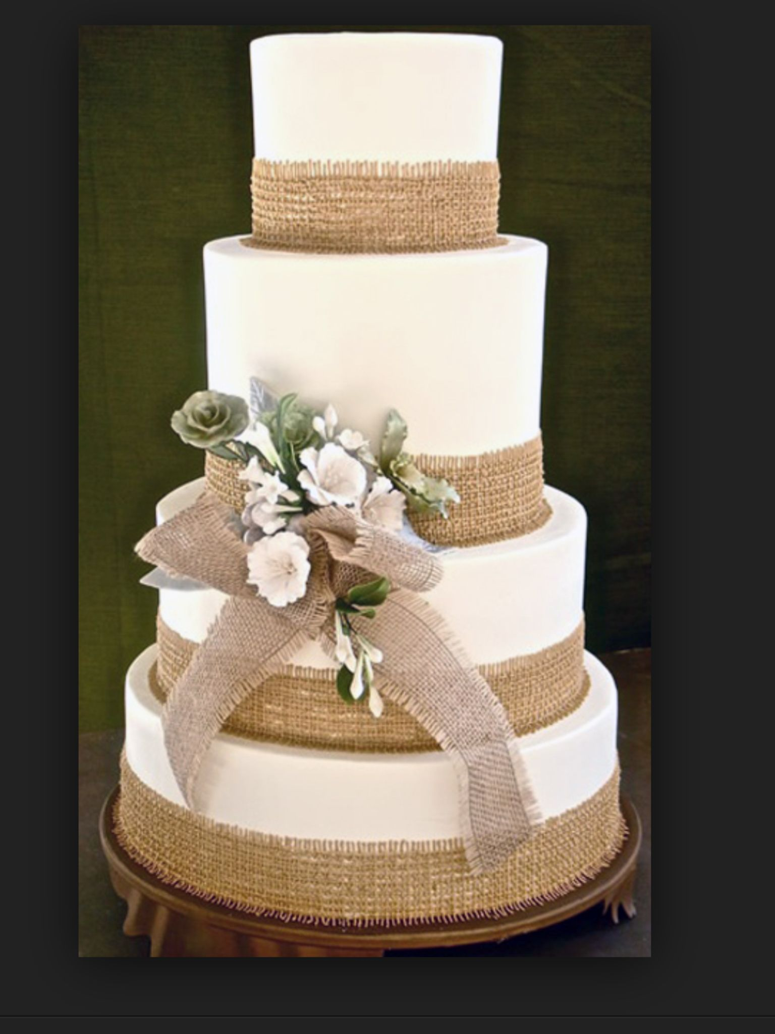 Wedding cake idea - countryside theme
