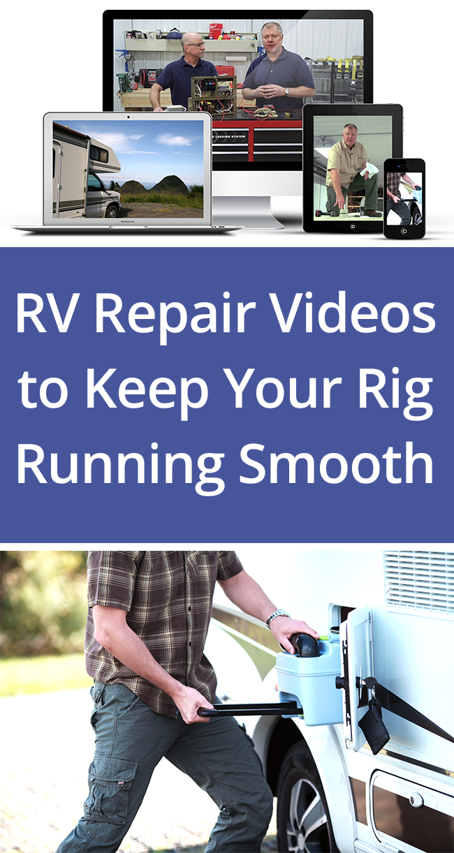 Sign up for the RV Repair Club weekly newsletter for RV