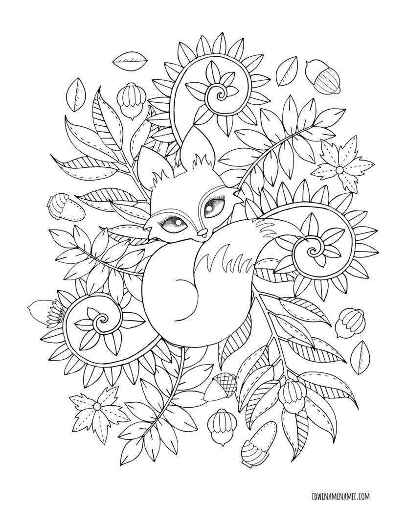 Ausmalbilder Für Erwachsene Halloween : Pin Von Wanda Arnold Auf Drawing Animals Pinterest Malvorlagen