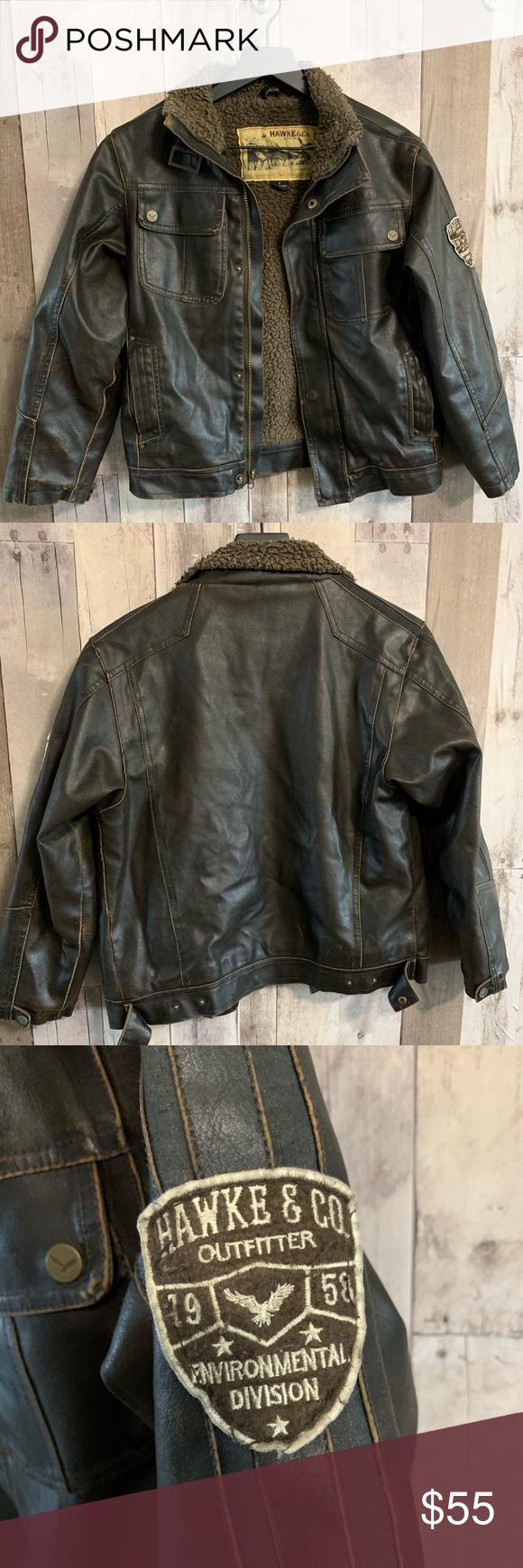 Hawke Co Outfitters Youth Jacket 8 Youth Jackets Jackets Flight Bomber Jacket [ 1740 x 580 Pixel ]