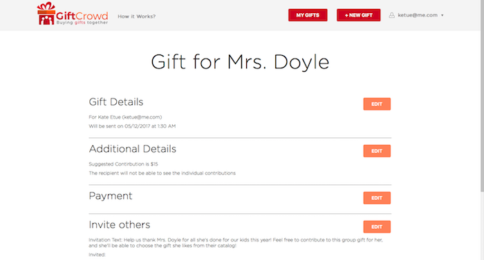3 Awesome Group Gift Websites That Make The Process So Much Easier Gift Websites Group Gifts Online Gift Cards