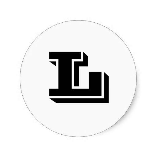 Letter L Retro Vintage Insignias Logotypes Stock Vector 1032055228 ...