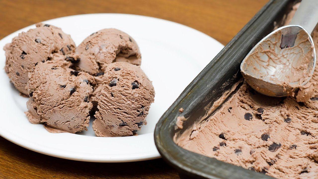 Homemade Chocolate Ice Cream Recipe Egg Less No Ice Cream Machine Youtube Homemade Chocolate Ice Cream Chocolate Ice Cream Ice Cream Recipes