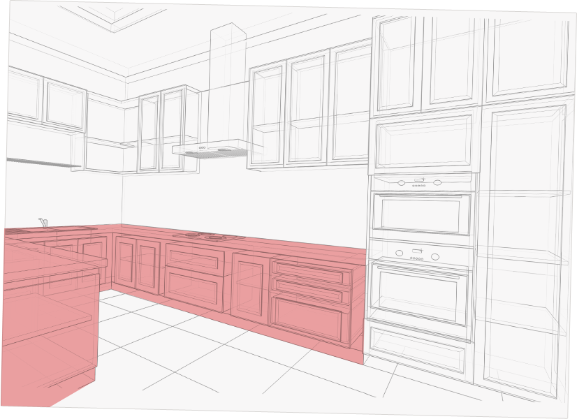Standard Kitchen Cabinet Size Guide: Base, Wall, Tall ...