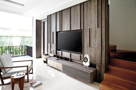 Make Sure Your Extra Large Flatscreen Tv Isn T An Eyesore Plus Tv Console Design Ideas Tv Wall Design Living Room Designs Tv Console Design