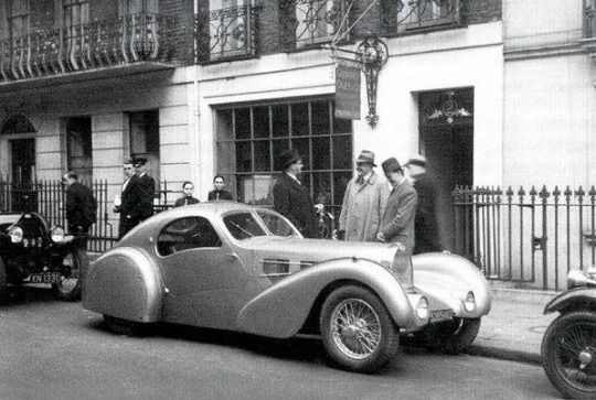 1932 bugatti atlantic aerolithe