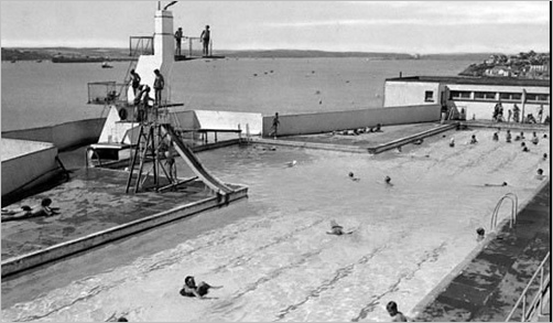 Milford Haven Lido at the Rath