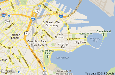 map of south boston ma Click The Map To Search For Home In South Boston Ma West Island map of south boston ma