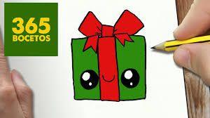 Resultado De Imagen Para Dibujos Kawaii Christmas Drawing Easy Christmas Drawings Cute Easy Drawings