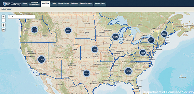 ArcGIS powers infrastructure protection mapping project