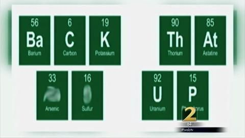 Student suspended for using the periodic table to spell out a student suspended for using the periodic table to spell out a sentence that included the word urtaz Image collections