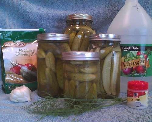 Die besten 25 hausgemachte dillgurken ideen auf pinterest hausgemachte k hlschrank pickles - Apfelmus einkochen im backofen ...