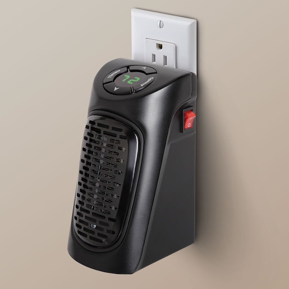 Sarah The Wall Outlet Personal Space Heater Hammacher Schlemmer Space Heater Interior Paint Painting Bathroom