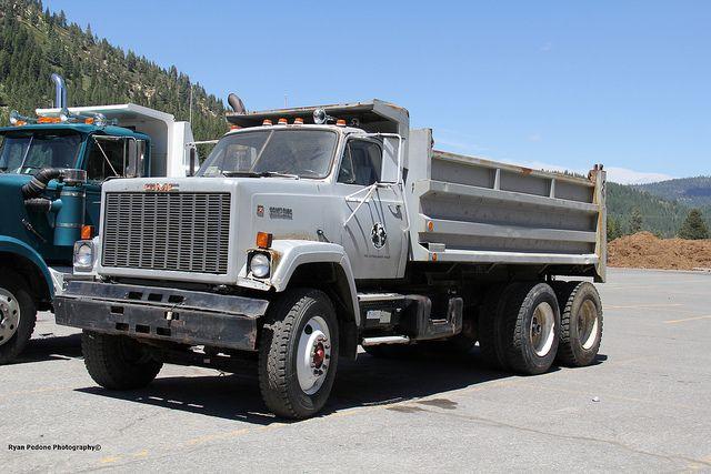 Gmc Brigadier Dump Gmc Trucks Trucks Dump Trucks