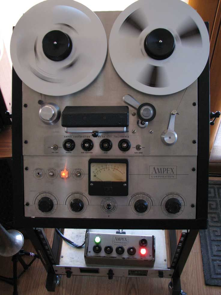 Ampex351 This Is A Mono Version Of The Ampex Open Reel