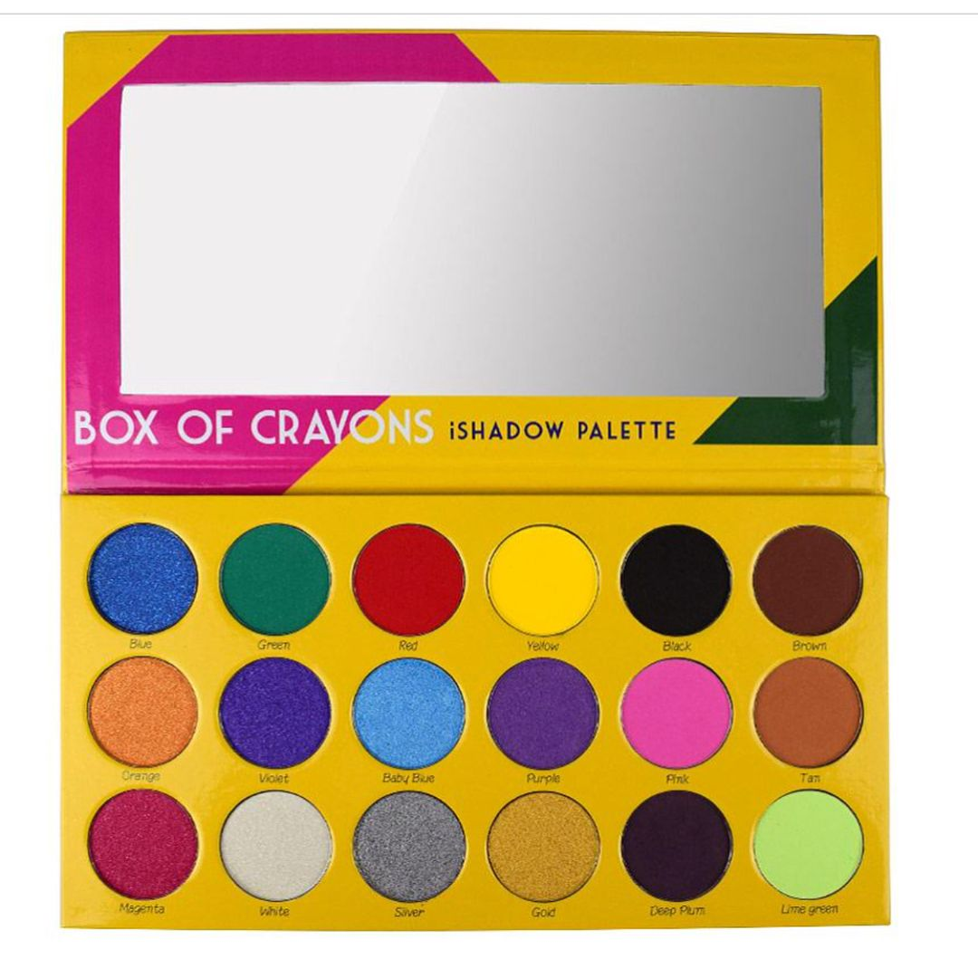 This crayon boxinspired eyeshadow palette will make you