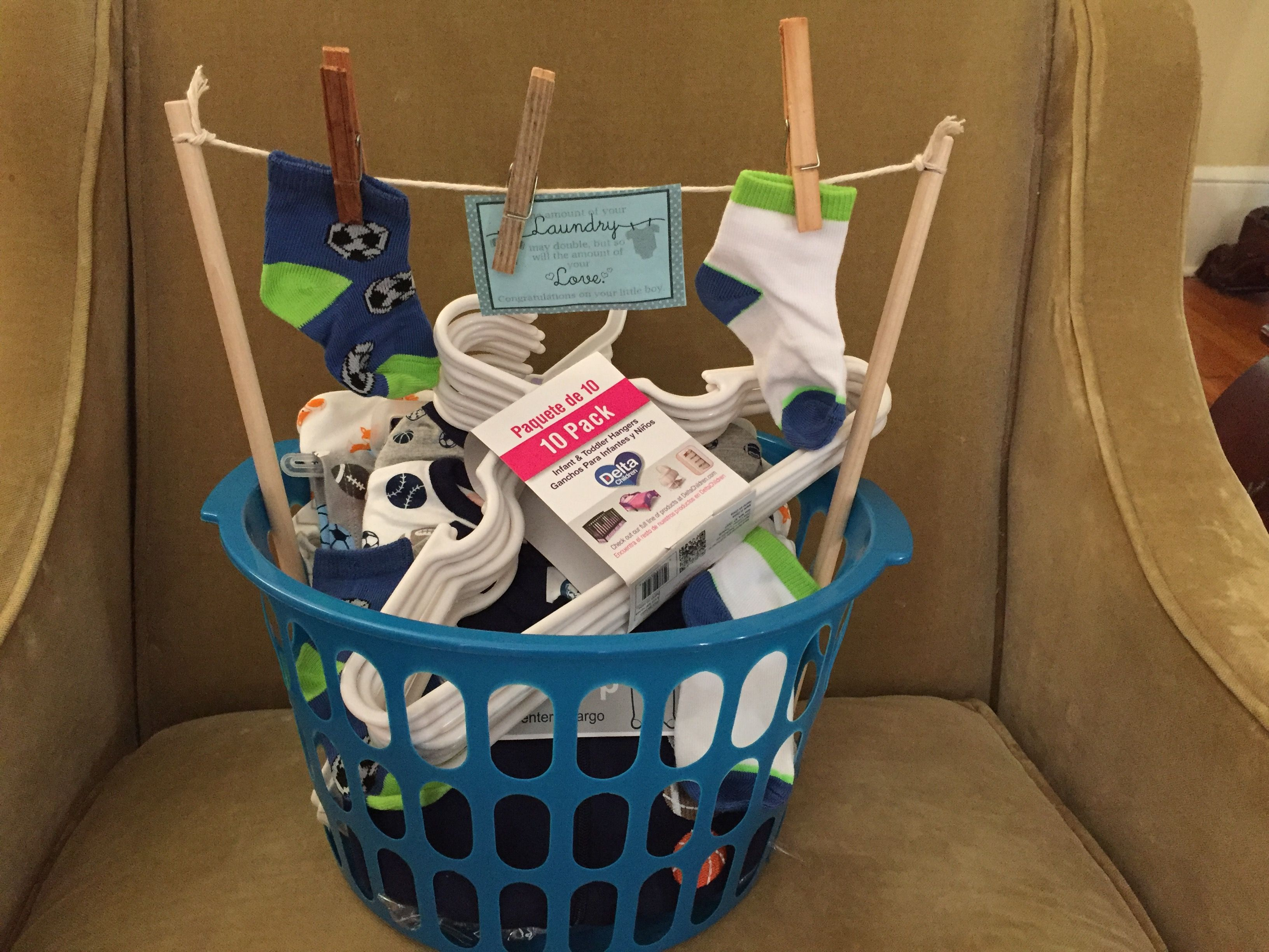 Baby Laundry Bin Baby Shower 39laundry 39 Gift Basket I Got A Small Laundry