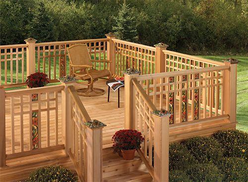 Best Deck Railing Google Search Wood Deck Railing Deck 400 x 300