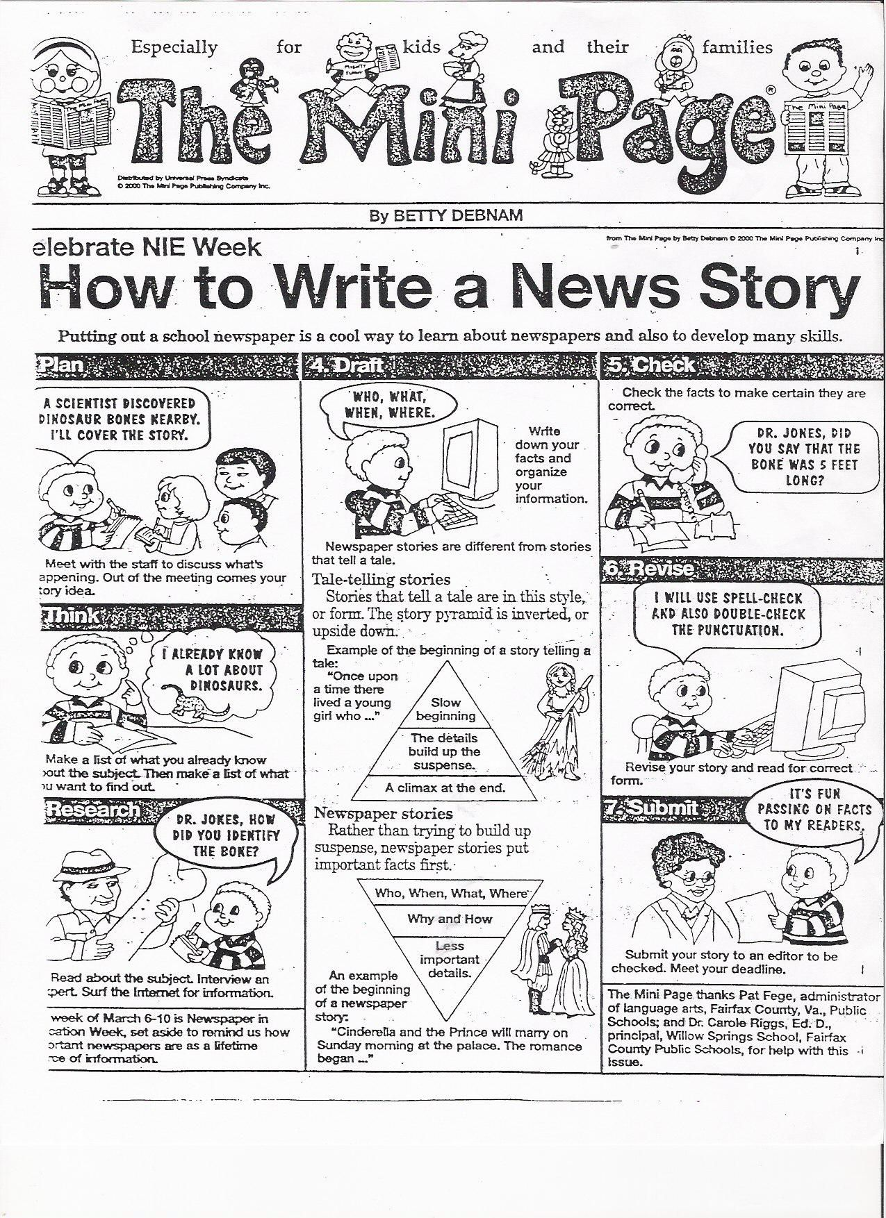 How to write an articles