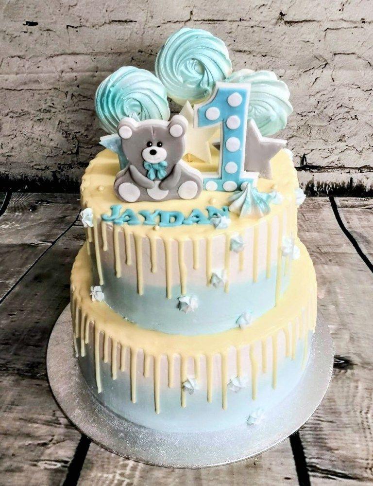 Gotowy Tort Na Roczek Dla Chlopca Cake Birthday Cake Desserts