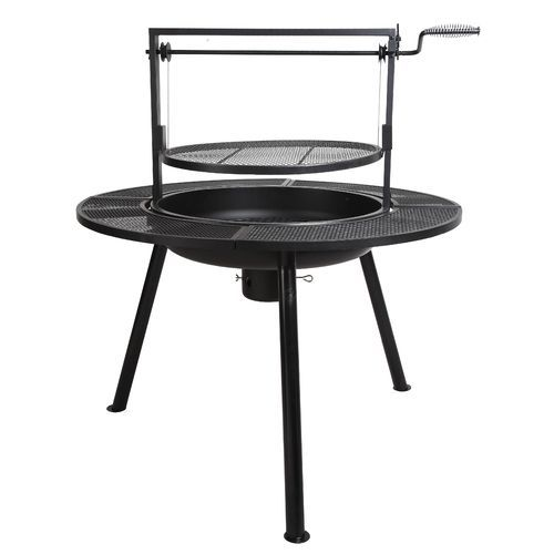 outdoor gourmet ponderosa charcoal barbeque pit grills pinterest grills outdoor living. Black Bedroom Furniture Sets. Home Design Ideas