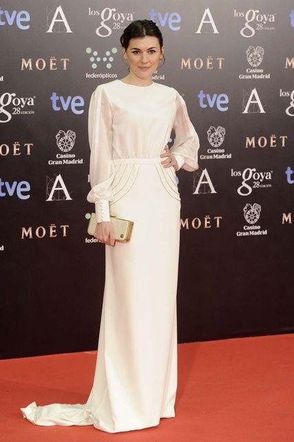 marta nieto in a beatriz de la cámara dress, goya awards 2014 | red