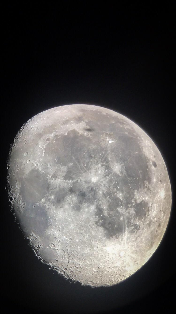 Waning Gibbous Moon This Morning Startling Space Moon Cosmos Space