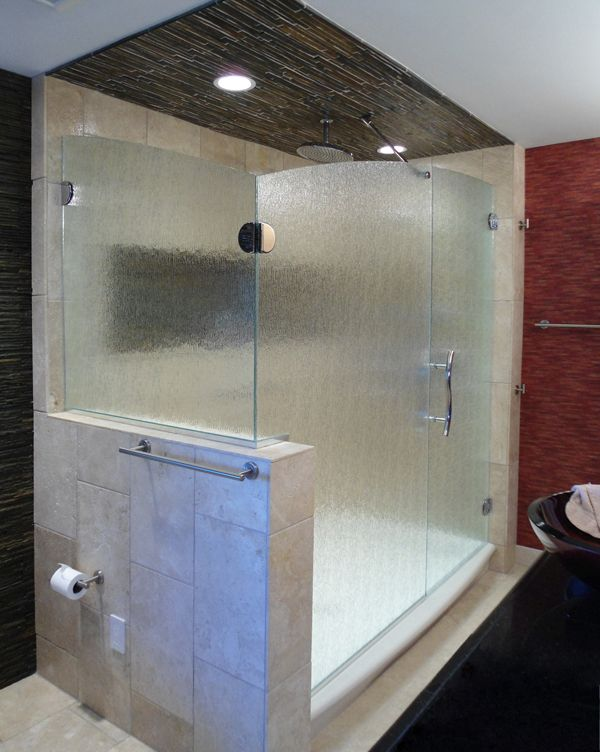 Vonse Door Panel With Return Panel Shower Enclosure With