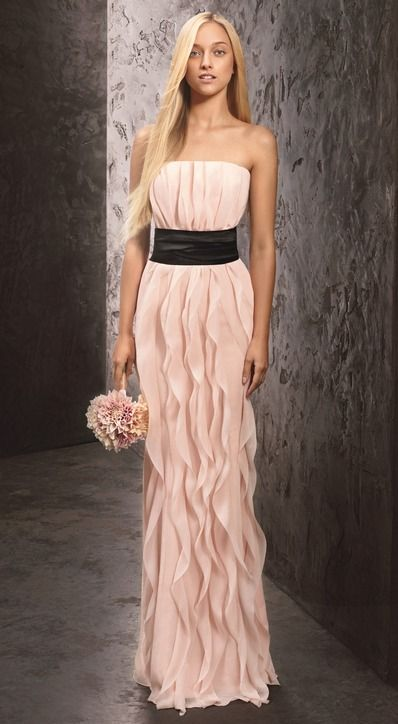 5 New Bridesmaid Dresses Vera Wang Designed for David's Bridal ...