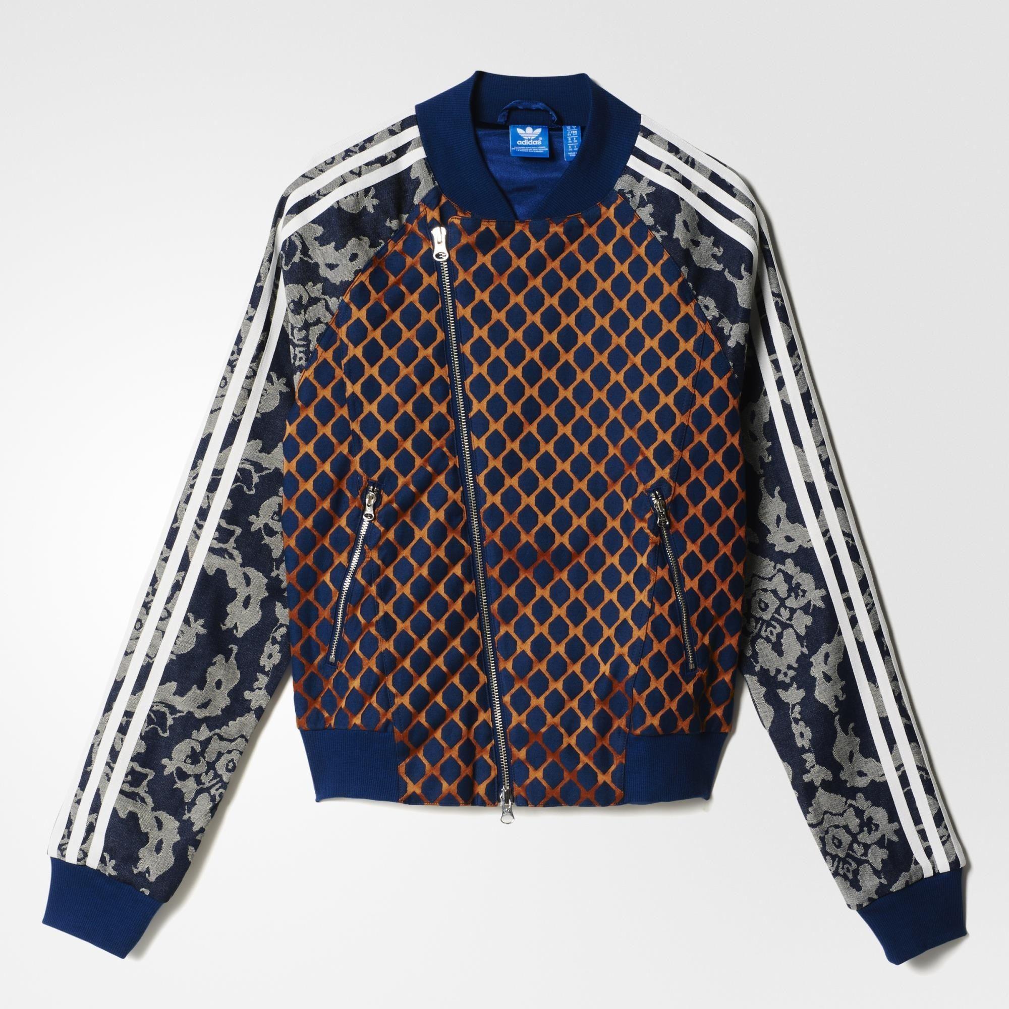 7d72eef18c0c adidas Superstar Track Jacket Paris - Blue
