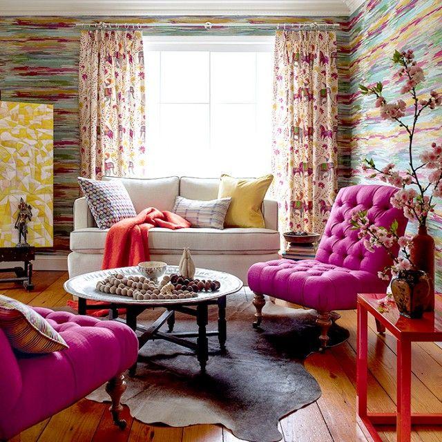 12 Fun Fabrics To Brighten Up A Boring Room Fabrics Room and Modern