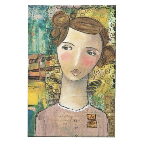 NEW Kelly Rae Roberts Hopeful Wall Art  8 by 12-Inch - eBay $21