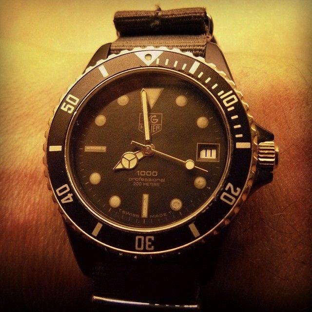 TAG Heuer 1000 Black Coral Submariner Man 980.029N # ...