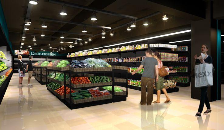 supermarket design - חיפוש ב-Google | supercofix | Pinterest ...