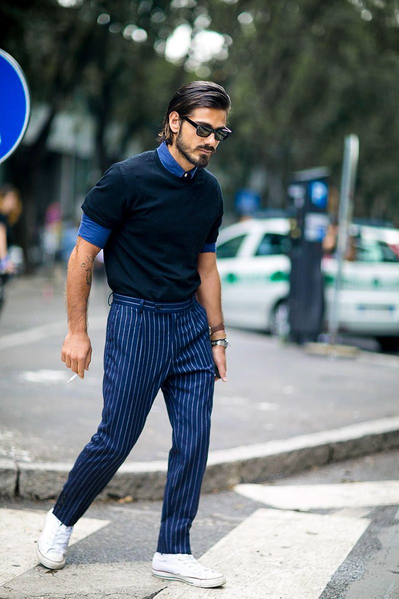 The Best Street Style At Milan Menswear Fashion Week Men Pinterest Milan Street Styles