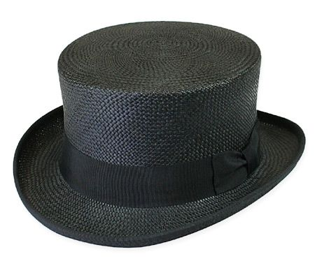 Our Panama Straw Top Hat is a tasteful topper for warm weather ... 2bba3445057