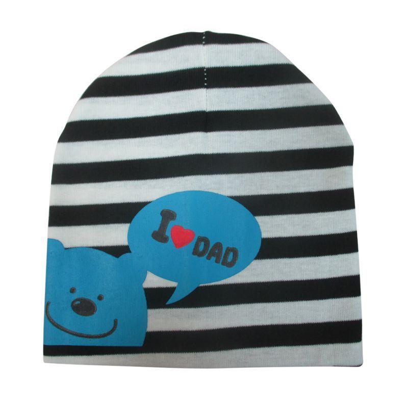 7 colors Fashion Infant Baby Hat Animal Printed Bear Soft Warm Cotton Girls Boys  Beanie Cap b1d747b210a3
