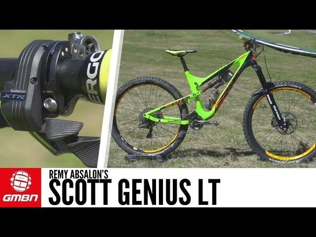 Remy Absalon S Scott Genius Lt Mountain Bike Accessories