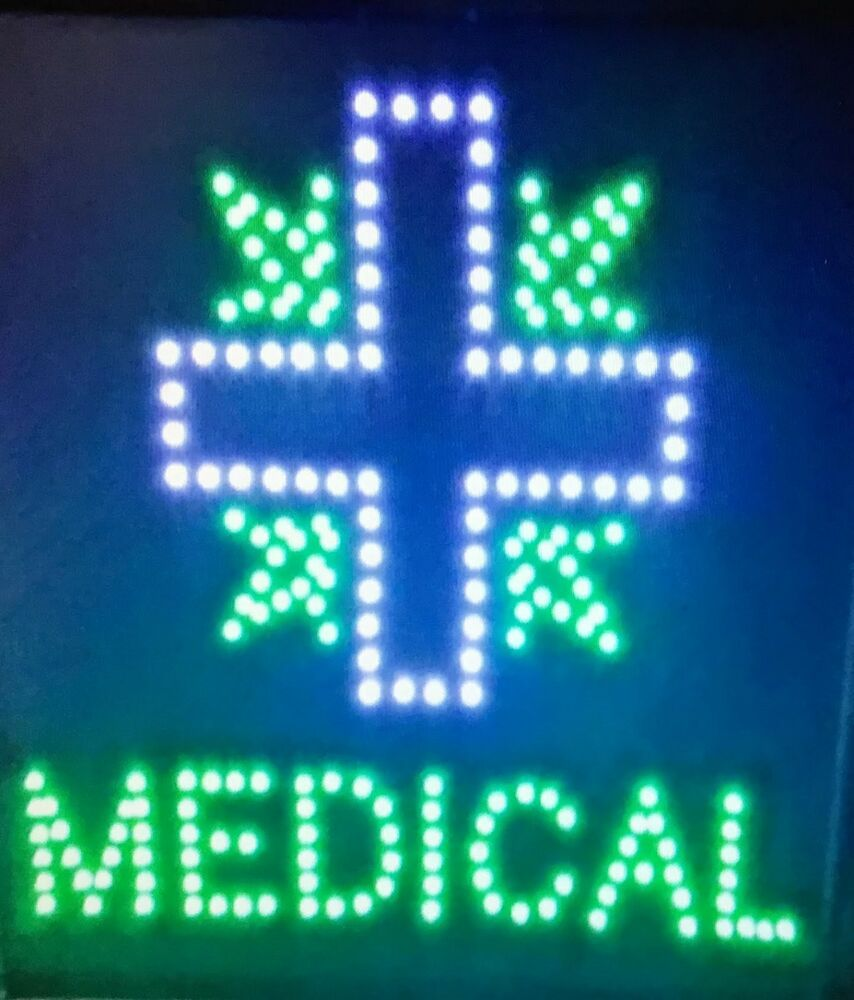 Blue Cross +, Medical neon LED Sign,smoke shop,store