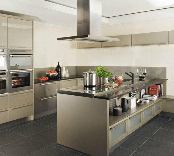 Ventajas de las islas de cocina. Ideas para cocinas con isla ...
